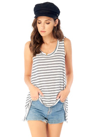 Salty Air Tank - Double Stripe,saltwater luxe,Saltwater Luxe,WOMENS