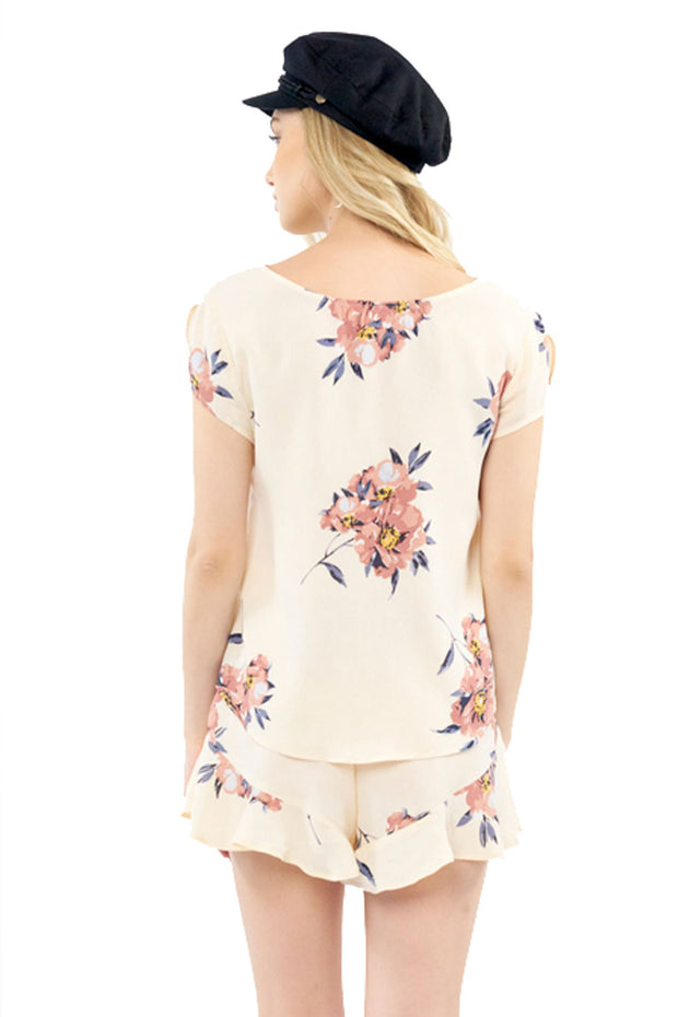 Memphis Top - Blossom,saltwater luxe,Saltwater Luxe,WOMENS