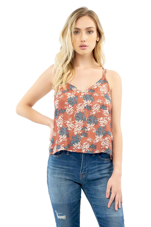 Heartlines Tank - Floral,saltwater luxe,Saltwater Luxe,WOMENS