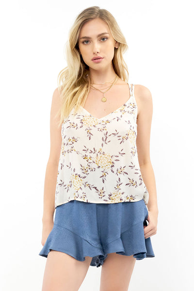 Heartlines Tank - Romance Floral,saltwater luxe,Saltwater Luxe,WOMENS