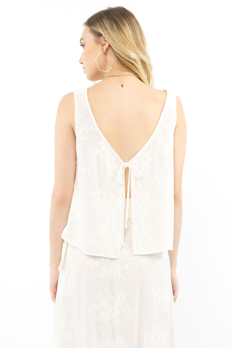 Dottie Tank - Embroidery,saltwater luxe,saltwater-luxe,WOMENS