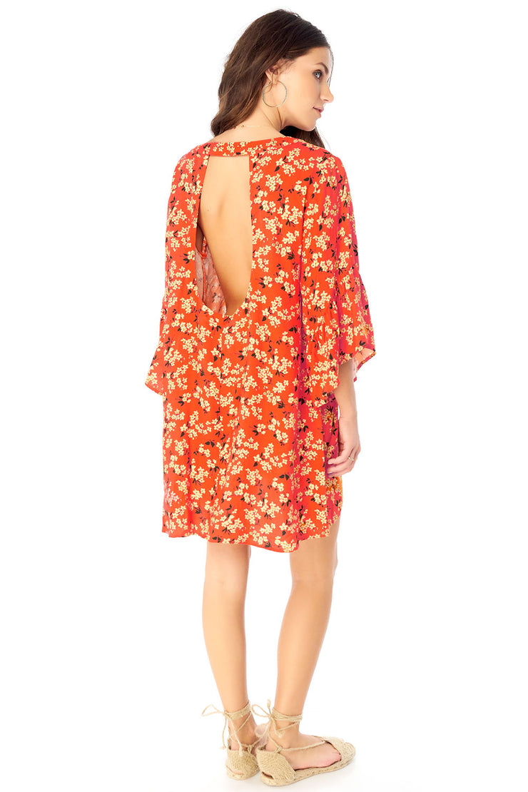 Willa Kimono - Floral Bunches,saltwater luxe,Saltwater Luxe,WOMENS