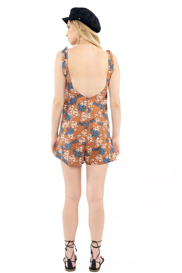 Pheobe Romper - Floral,saltwater luxe,Saltwater Luxe,WOMENS