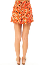 Driftwood Short - Floral Bunches,saltwater luxe,Saltwater Luxe,WOMENS