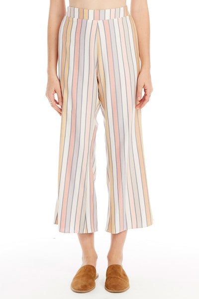 Retreat Crop Pant - Morning Stripe