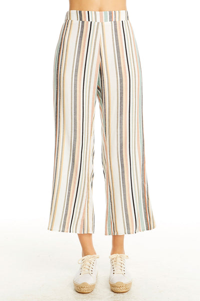 Retreat Crop - Night Stripe,saltwater luxe,Saltwater Luxe,WOMENS