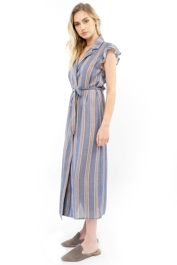 Reese Maxi Dress - Stripe,saltwater luxe,saltwater-luxe,WOMENS