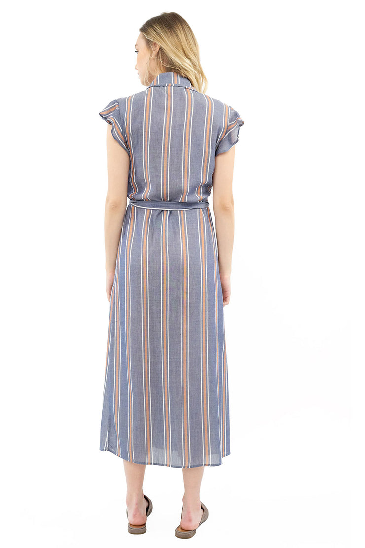 Reese Maxi Dress - Stripe,saltwater luxe,Saltwater Luxe,WOMENS