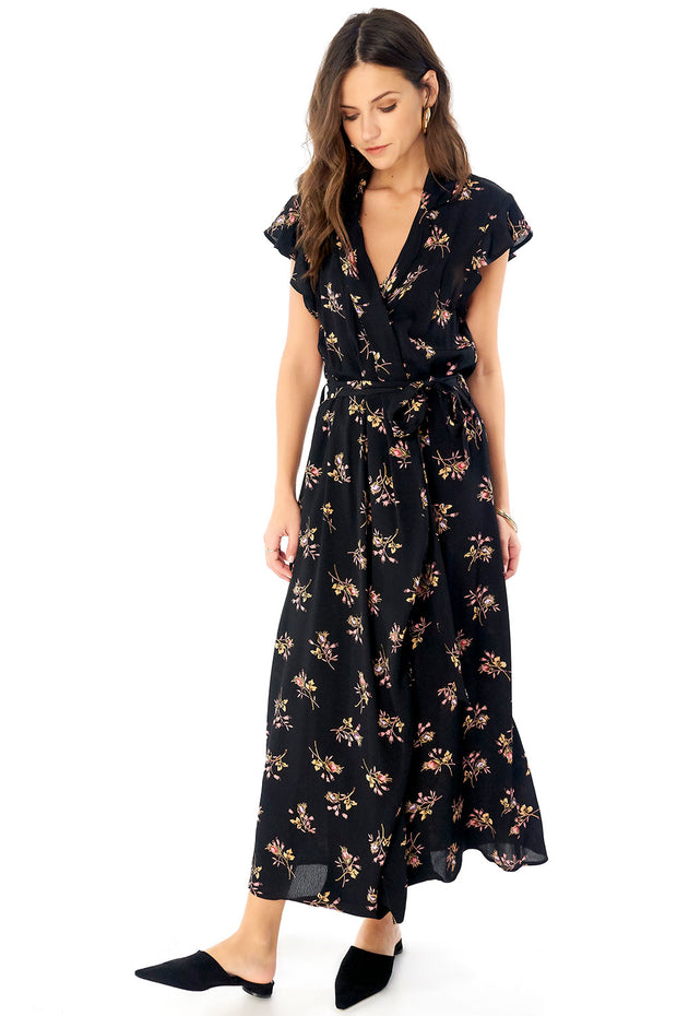 Reese Maxi Dress - Bouquet,saltwater luxe,Saltwater Luxe,WOMENS