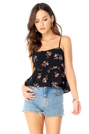 Serena Tank  - Floral Bloom,saltwater luxe,Saltwater Luxe,WOMENS