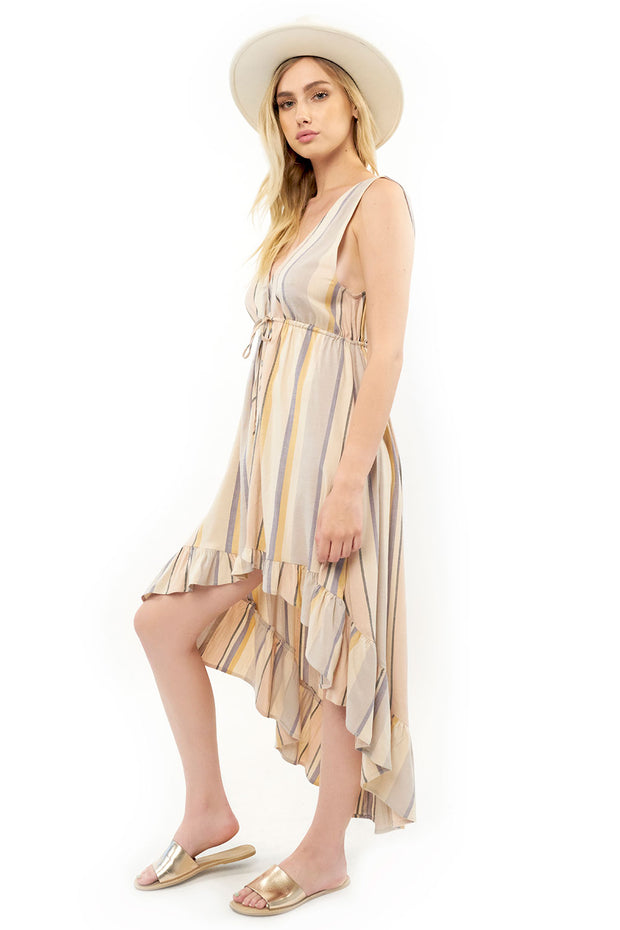 Lovestoned Maxi Dress - Stripe,saltwater luxe,saltwater-luxe,WOMENS