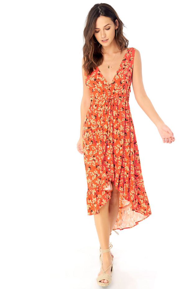 Lovestoned Maxi Dress - Floral Bunches,saltwater luxe,Saltwater Luxe,WOMENS