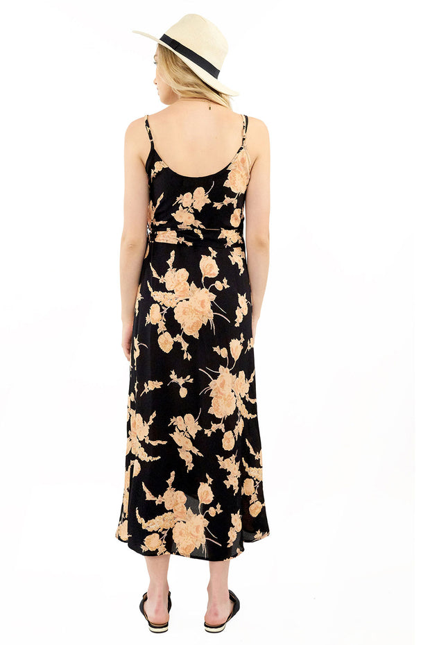 Halsey Midi Dress - Floral,saltwater luxe,saltwater-luxe,WOMENS