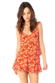 Anya Tank - Floral Bunches,saltwater luxe,Saltwater Luxe,WOMENS
