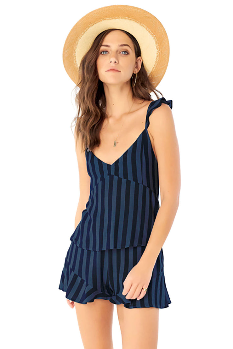 Anya Tank - Stripe,saltwater luxe,Saltwater Luxe,WOMENS