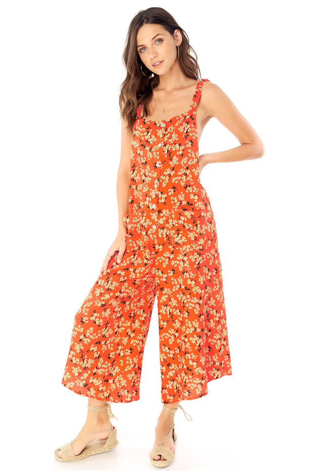 Del Mar Jumper - Floral Bunches,saltwater luxe,Saltwater Luxe,WOMENS