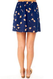 Cannes Mini Skirt - Ditsy,saltwater luxe,Saltwater Luxe,WOMENS
