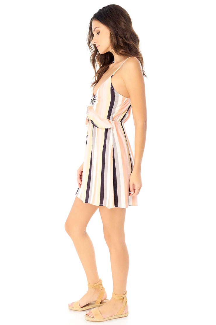 Piper Mini Dress - Summer Stripe,saltwater luxe,Saltwater Luxe,WOMENS