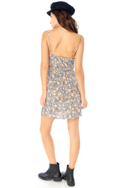 Piper Mini Dress - Leopard Ditsy,saltwater luxe,Saltwater Luxe,WOMENS
