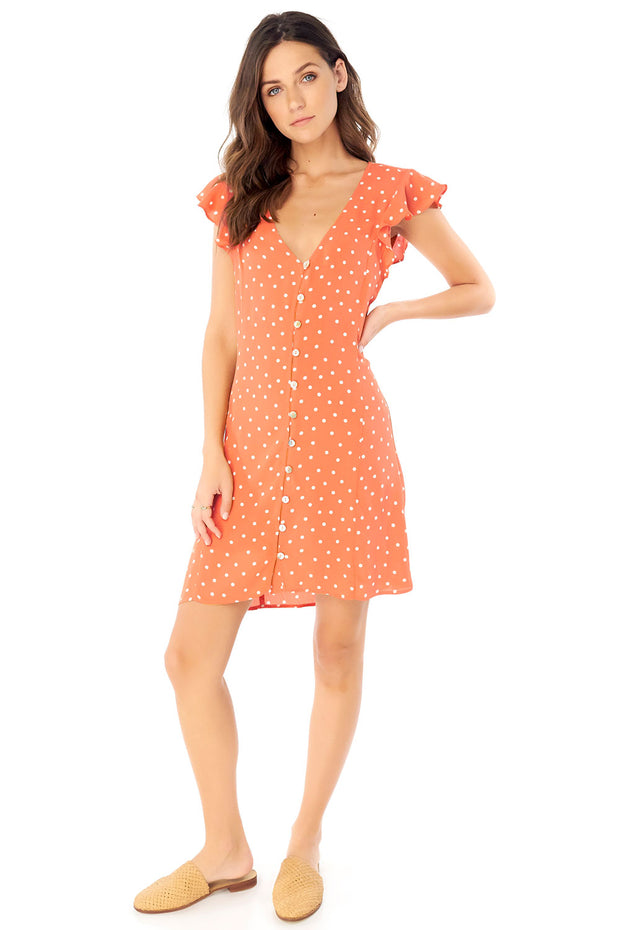 Jolie Mini Dress - Dot,saltwater luxe,saltwater-luxe,WOMENS