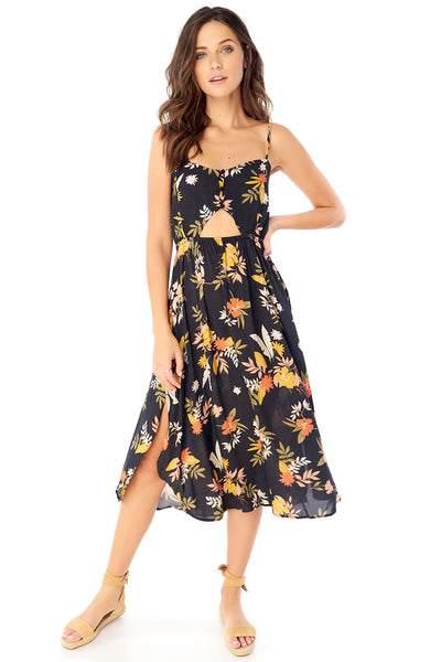Lennon Midi Dress - Tropic,saltwater luxe,saltwater-luxe,WOMENS
