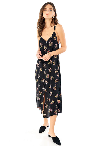 Lily Midi Dress - Bouquet,saltwater luxe,saltwater-luxe,WOMENS