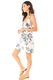Lover Mini Dress - Full Bloom,saltwater luxe,saltwater-luxe,WOMENS