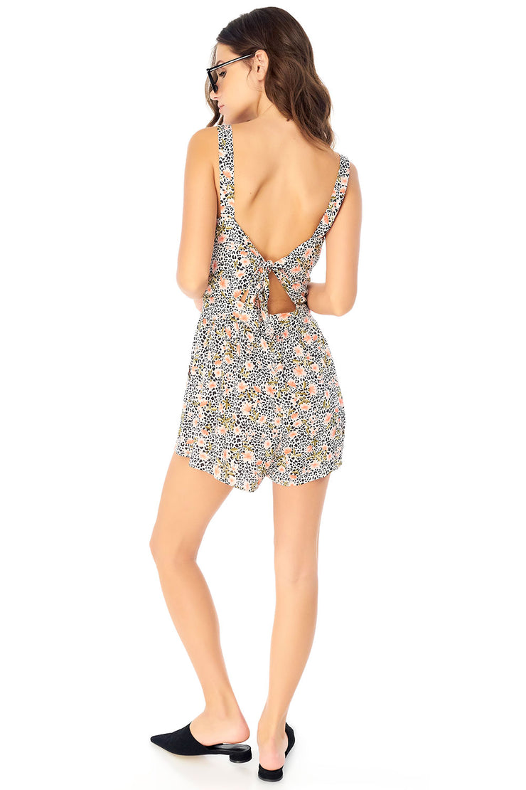 Paige Romper - Leopard Ditsy,saltwater luxe,Saltwater Luxe,WOMENS