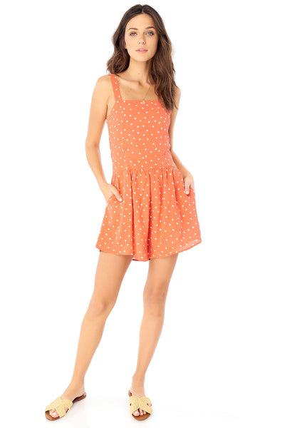 Paige Romper - Dot,saltwater luxe,saltwater-luxe,WOMENS