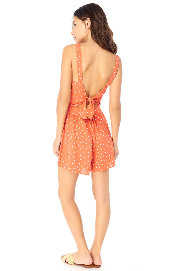 Paige Romper - Dot,saltwater luxe,Saltwater Luxe,WOMENS