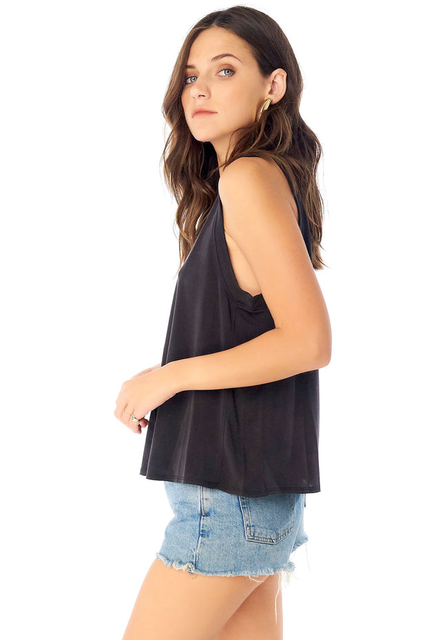 Muscle Tank w/ Side Panels,saltwater luxe,Saltwater Luxe,WOMENS