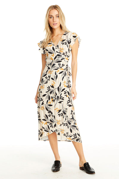 Byron Dress - Fall Petals,saltwater luxe,Saltwater Luxe,WOMENS