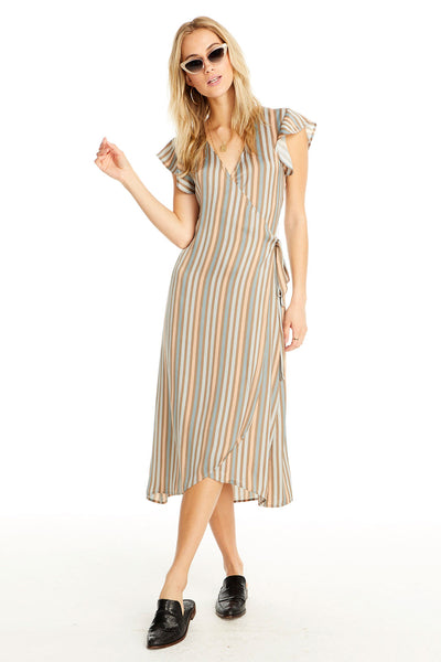 Byron Dress - Perfect Stripe,saltwater luxe,Saltwater Luxe,WOMENS