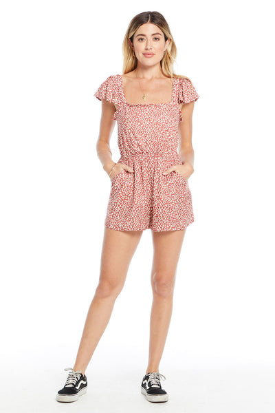 Lex Romper - Falling Hearts,saltwater luxe,Saltwater Luxe,WOMENS
