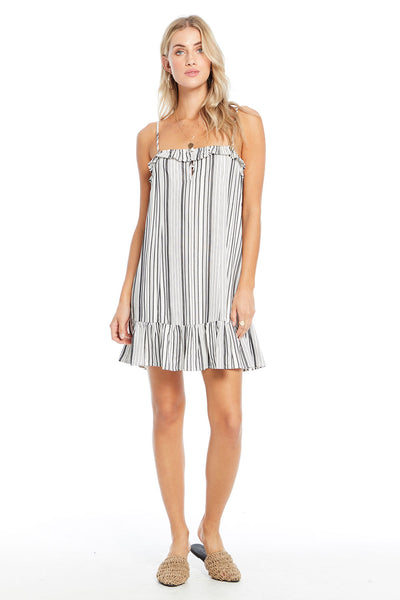 Rosie Dress - Fall Stripe,saltwater luxe,Saltwater Luxe,WOMENS