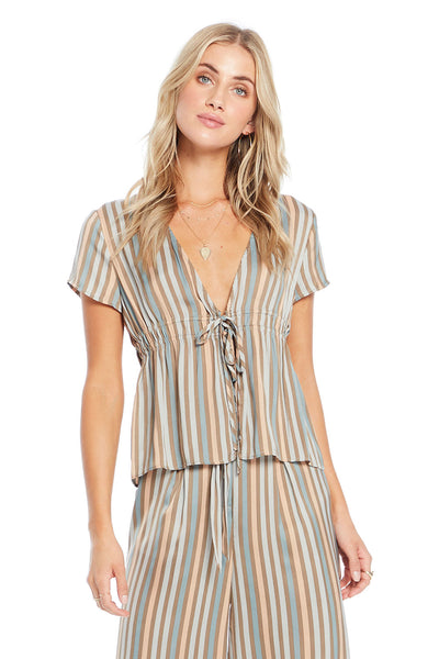 Adison Top - Perfect Stripe,saltwater luxe,Saltwater Luxe,WOMENS