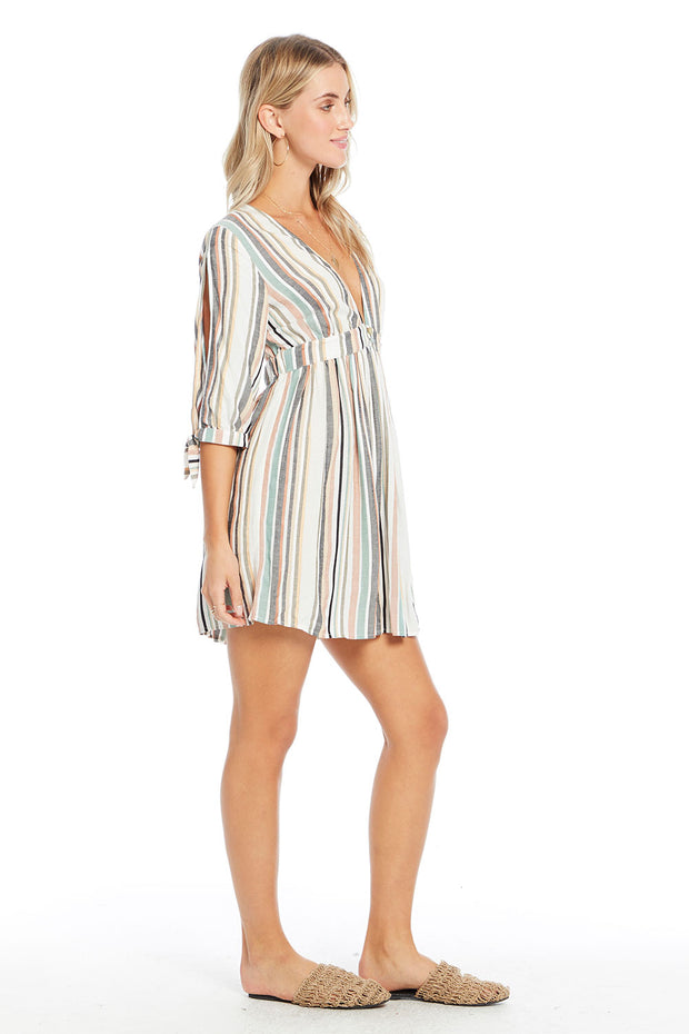 Madden Dress - Night Stripe,saltwater luxe,Saltwater Luxe,WOMENS
