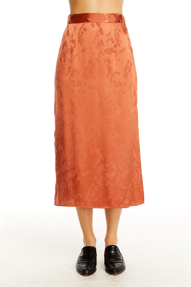 Gia Midi Skirt - Sienna Blossom,saltwater luxe,Saltwater Luxe,WOMENS