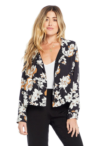 Bryant Jacket - Floral Romance,saltwater luxe,Saltwater Luxe,WOMENS