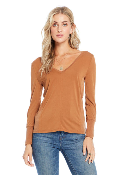 Long Sleeve with Side Panels,saltwater luxe,Saltwater Luxe,WOMENS