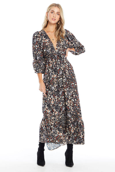 Wren Maxi Dress - Winter Dreams
