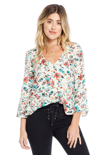 Meadow Blouse - Primrose Floral