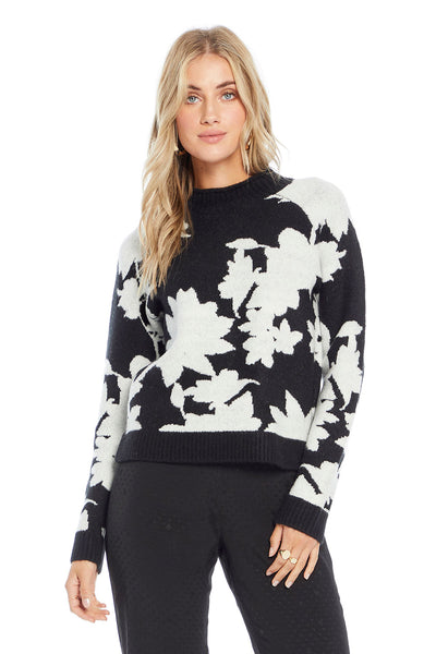 Fullton Sweater - Floral Romance,saltwater luxe,Saltwater Luxe,WOMENS