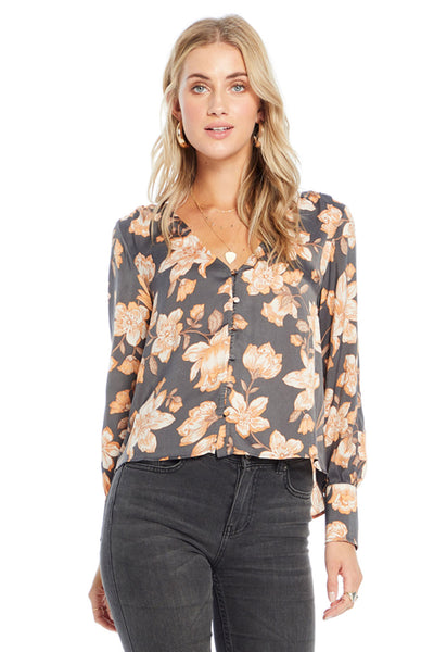 Mercy Blouse - Morning Blossom