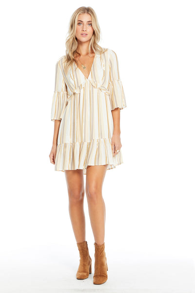 Rambler Mini Dress - Fancy Stripe
