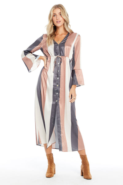 Naomi Maxi Dress - Wonder Stripe