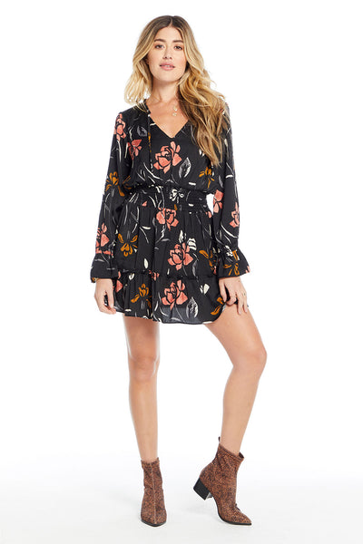 Lena Mini Dress - Rose Garden