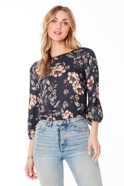 Becca Blouse - Garden Dream