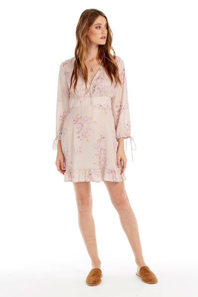 Darcy Mini Dress - Floral Petals