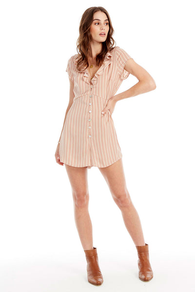 Emerson Romper - Lovely Stripe